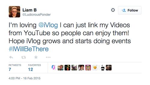 iVlog™ Twitter